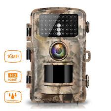 Campark Trail Wildlife Camera Trap 16MP 1080P Hunting Game Cam PIR Night Vision