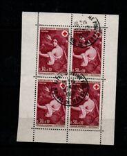 4 Timbres oblitérés - Croix Rouge 1968