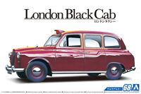 Aoshima 1:24 Scale Plastic Model Kit -  LONDON HACKNEY CARRIAGE TAXI CAB 1968 67