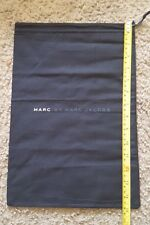 "NEW! Marc By Marc Jacobs Dust Bag Drawstring Black 15""L x 10""W"