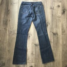 Earnest Sewn Denim Jeans Straight Leg KEATON.55 Woman's Size 26