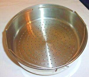 Farberware Steamer Basket Insert Strainer Colander Stainless For Stock Pots #810