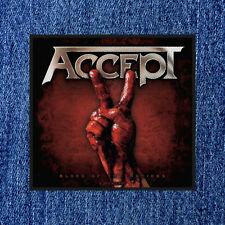 ACCEPT - BLOOD OF THE NATIONS (NEW) SEW ON PATCH OFFICIAL BAND MERCH