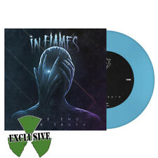 "In Flames ‎- The End / The Truth 7"" lp BLUE Vinyl LIMITED EDITION of 300 - Death"