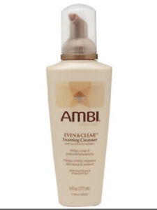 Ambi Even and Clear Foaming Cleanser, Salicylic Acne Treatment 6oz Exp 2021 New