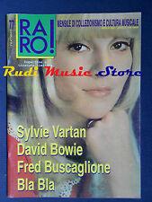 rivista RARO 77/1997 David Bowie Sylvie Vartan Fred Buscaglione Bla Bla (* No cd