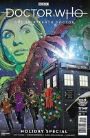 Doctor Who 13th Doctor Holiday Special Comic 1 Variant 2019 Jody Houser Titan