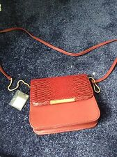 Primark Handbag Burgandy Faux Leather