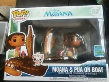 Funko Pop Disney Moana And Pua On Boat SDCC 2019 Exc