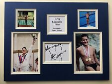 Olympic Memorabilia David Weir Olympic Champion Hand Signed 16 X 12 Photo Free Post