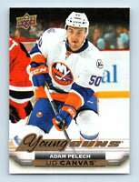 2015-16 Upper Deck Canvas Young Guns Adam Pelech RC #C213