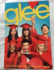 GLEE 13x19 Original Promo TV Poster SDCC 2012 San Diego Comic Con Cory Monteith