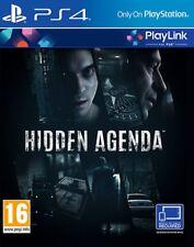 Hidden Agenda PlayLink PS4 * Neuf Scellé PAL * covfaces