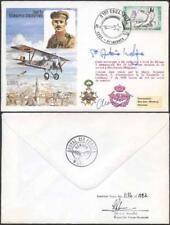 C55c 2nd Lt Edmond Thieffry 6.50 Signed by Prince Antoine De Ligne