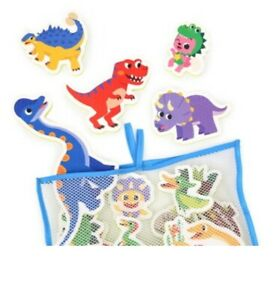 Pinkfong Dinosaur Tyrannosaurus Bath Play Soft Sticker 23pcs 1cm EVA Baby Kids