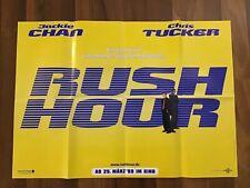 Rush Hour - Jackie Chan - Chris Tucker - orig. Kinoplakat A1
