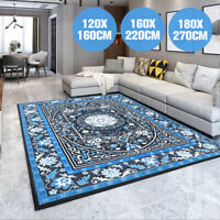 Floor Rugs Short Pile Area Rug Large Modern Classic Carpet Bedroom 160cm x 220cm