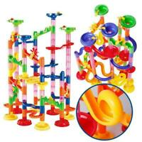 105 pcs Marble Run Race Set Construction Building Blocks Kid Toy Game Gift J5W7
