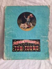 History of Tom Thumb - Picture Book for The Nursery - Chromolithographs,1880s