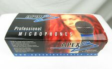 Apex 191 Condenser Electret Microphone - New Old Stock, Free Shipping
