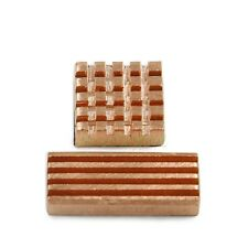 2-Pieces Adhesive Back Copper Heatsink For DIY GPU Chipset DDR DDR3 RAM Memory