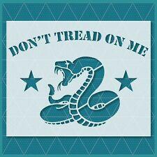 Don't Tread on Me Stencil - Reusable & Durable
