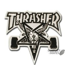 Thrasher Skate Goat Pentagram Skater Punk Embroidered Iron Sew on Patch #111W