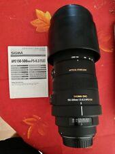 Sigma DG 150-500 mm F/5-6.3 APO HSM OS Canon