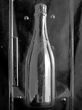 LARGE CHAMPAGNE BOTTLE MOLD Chocolate Candy molds 2 piece celebrate