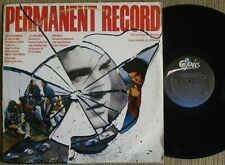 THE CLASH LOU REED STRANGLERS PERMANENT RECORD LP MADE IN BRAZIL 88 ####