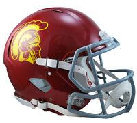 USC TROJANS RIDDELL SPEED AUTHENTIC NCAA FOOTBALL HELMET