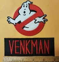 Ghostbusters Name Tag Venkman & No Ghost Cosplay/Costume/Uniform patch