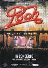 Dvd + Folleto «POOH ~ EN CONCIERTO A MILANO PIAZZA DUOMO» nuevo slipcase 1990