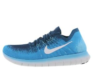 NIKE FREE RN FLYKNIT Running Trainers Gym Shoes  UK Size 11 (EUR 46) Blue Lagoon