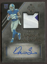 2019 Majestic Scripted Swatches Darius Slayton RPA Rookie Patch Auto /199