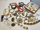 Job+Lot+of+Antique+%26+Vintage+Jewellery+bits+bobs+some+mark