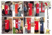 Postcard Pillar Boxes, 150th Anniversary of the Pillar Post Box 2002