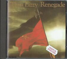 THIN LIZZY - Renegade / Import - Made In London, England - Hard Rock Music CD