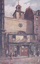 ENGLAND - London - Bishopsgate Street - Tuck's - Oilette