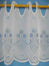 Markenlose bestickte Gardinen & Vorhänge mit Schlaufenaufhängung