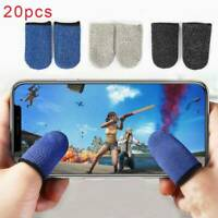 20x Gaming Finger Sleeve Mobile Screen Game Controller Sweatproof Gloves PUBG M3