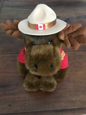 """Royal Canadian Mounted Police Sergeant Bullmoose Plush Soft Toy 15"""" RCMP"""