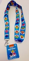 Baby Shark Neck Lanyard with Keychain Clasp Necklace Candy Bag Filler