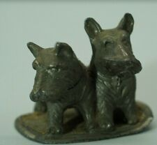 Vintage 1950s Scottish Terrier Scottie Dog Figurine Made in Japan Metal