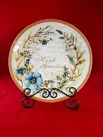 "Certified International Susan Winget Herb Garden 10"" Dinner Plate"