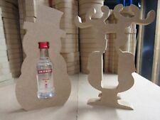 Mini Xmas Bottle Holder (Smirnoff/Jack Daniels)