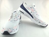 NEW Nike Air Max Thea Womens Print White Dark Purple 599408-104 US 11.5 UK 9