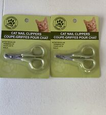 Lot Of 2 Greenbrier Kennel Club Cat Nail Clippers/Trimmers 4 Your Beloved Kitty