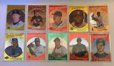 Lot of 10 2008 Topps Heritage Cards /1959 Hanley Ortiz Halladay Vlad