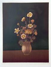 "Taira Motomura ""Bouquet"" Original Lithograph S/N"